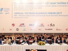 2017年度越南企业论坛(VBF 2017)正式开幕 (组图)
