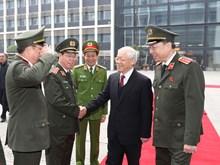 越共中央总书记阮富仲出席第73次全国公安会议(组图)