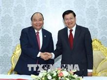 越南政府总理阮春福在老挝开展的系列活动(组图)