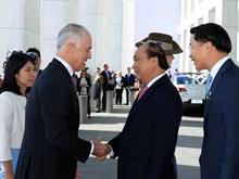 越南政府总理阮春福对澳大利亚进行正式访问(组图)