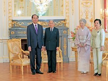 越南国家主席陈大光圆满结束对日本进行的国事访问(组图)
