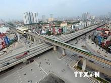 越南河内吉灵—河东线城铁项目开始全线试运行(组图)