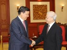 中共中央政治局常委、中央书记处书记刘云山对越南进行访问
