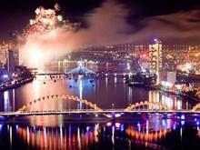 2017年越南岘港国际烟花节第3场烟花表演:流光溢彩、神秘十足(组图)