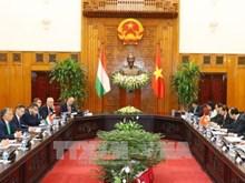 越南与匈牙利发表联合声明
