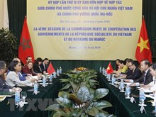 越摩举行第四次混合委员会会议暨两国外交部第五次政治磋商