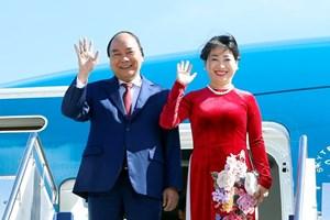 越南政府总理阮春福抵达堪培拉 开始对澳大利亚进行正式访问(组图)
