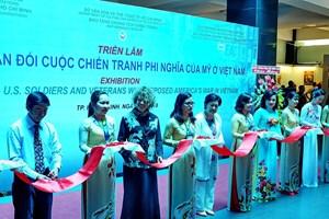 """""""反对越南战争的浪潮""""展览会在胡志明市举行(组图)"""