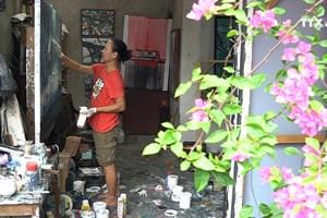 首都河内的画家村