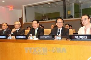 范平明在第72届联合国大会期间开展的系列活动
