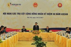 范平明主持东盟共同体各支柱会议