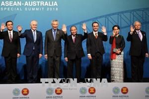 越南政府总理阮春福出席东盟-澳大利亚特别峰会