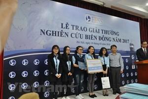 2017年东海研究奖颁奖仪式在河内举行