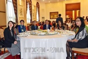 越南驻中国大使馆举办东盟妇女茶话会