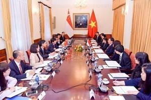 越新两国外交部第十一次政治磋商会在河内举行