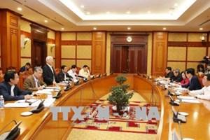 越共中央总书记阮富仲:加大对党的决议和指示执行工作监督检查力度是十分必要的