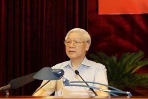 越共中央总书记阮富仲:让贪污腐败、浪费和官僚现象无藏身之地