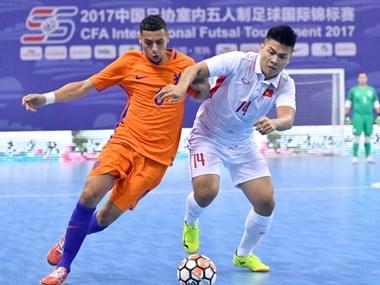 2017中国足协室内五人制足球国际锦标赛:越南居第三位