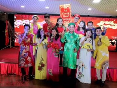 为旅俄越南侨胞举行迎新年文艺演出活动