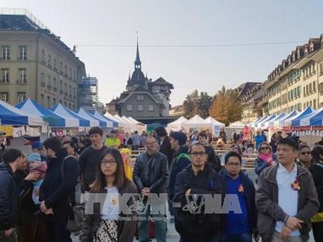 东盟节亮相瑞士首都伯尔尼
