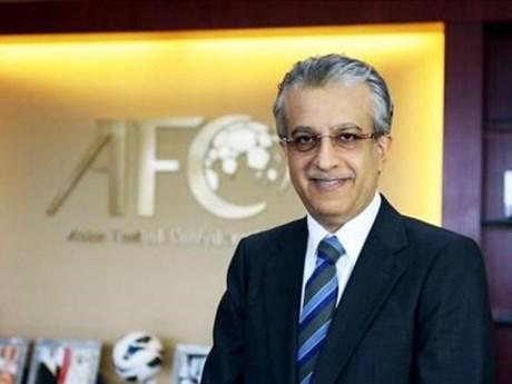 2018年亚洲U23足球锦标赛:亚洲足球联合会主席祝贺越南足球队的胜利