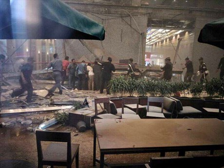 印尼证交所楼层坍塌77伤 其中50多名伤者为大学生