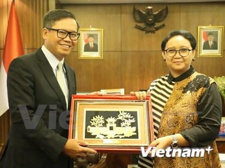 越南与印尼携手维护东盟和平、稳定与发展