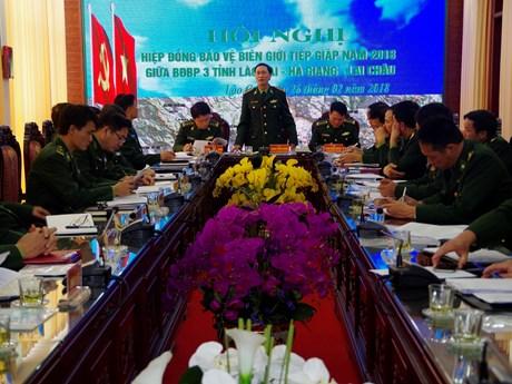 越边境各省边防部队携手维护边境安全稳定
