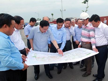 越南政府副总理王廷惠莅临海防市调研