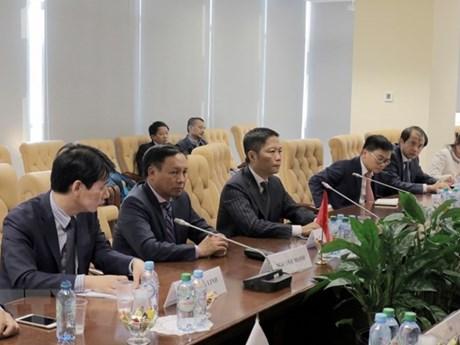 越南与欧亚经济联盟促进合作关系