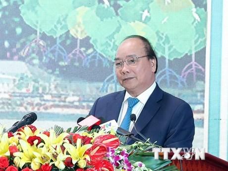 """政府总理阮春福:在不久的将来朔庄省将成为各家投资商的""""银库"""""""