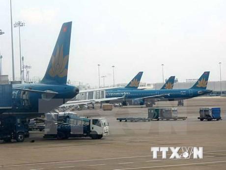 """越航受台风""""安比""""影响对多个往返中国上海航班进行调整"""