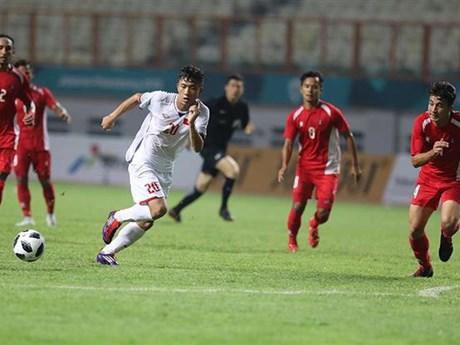 ASIAD 2018: 越南男足2:0战胜尼泊尔男足