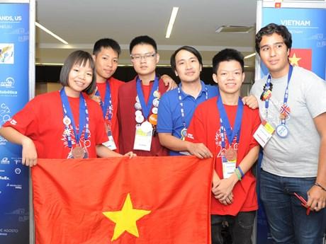 2018年FIRST全球挑战赛 越南队战绩辉煌
