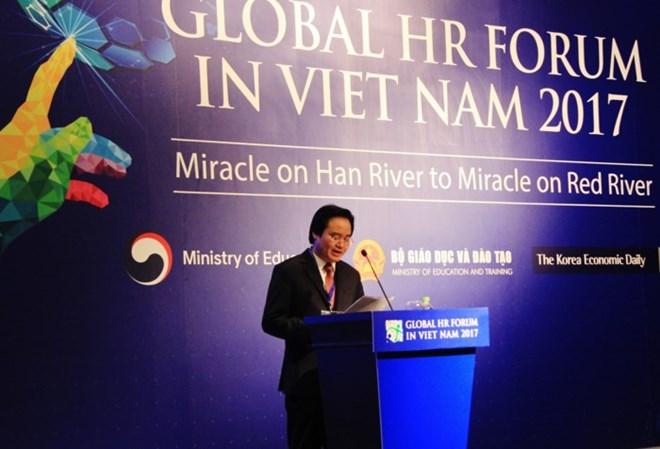 2017年全球人力资源论坛在河内开幕